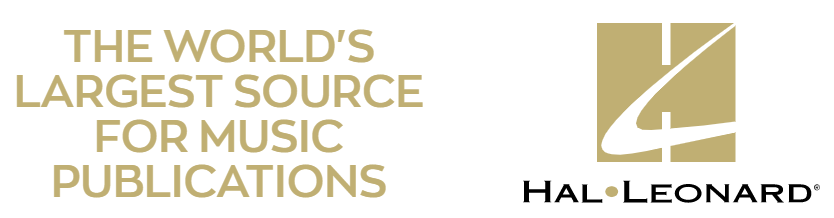 The world's largest source for music publications -- Hal Leonard.