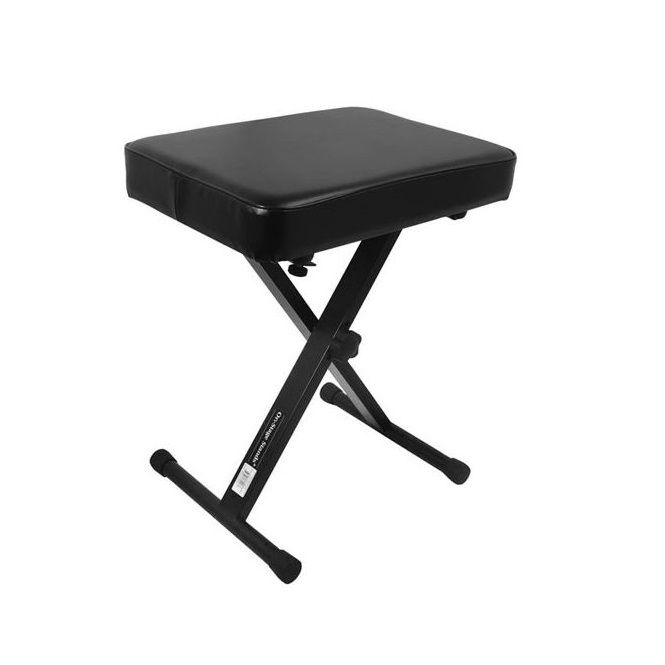 X-style folding bench, 3-position, 17″ wide