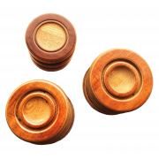 Reclaimed Piano Wood Caster Cups